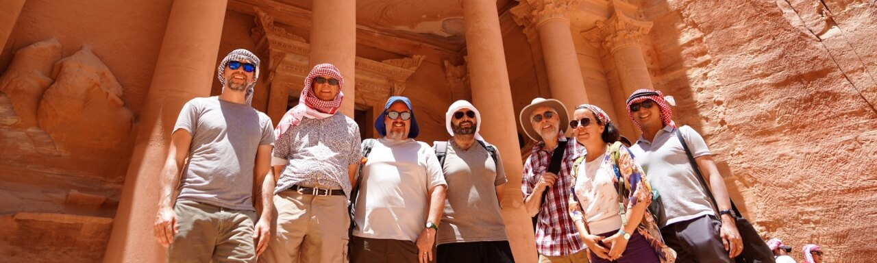 Conference participants in Wadi Rum